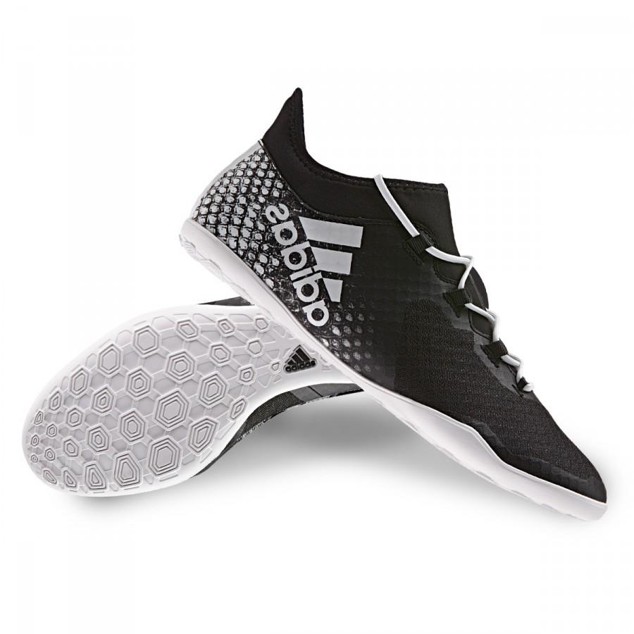 4e04e3bba19e Futsal Boot adidas X 16.2 CT Viper Black-White-Gold metallic ...