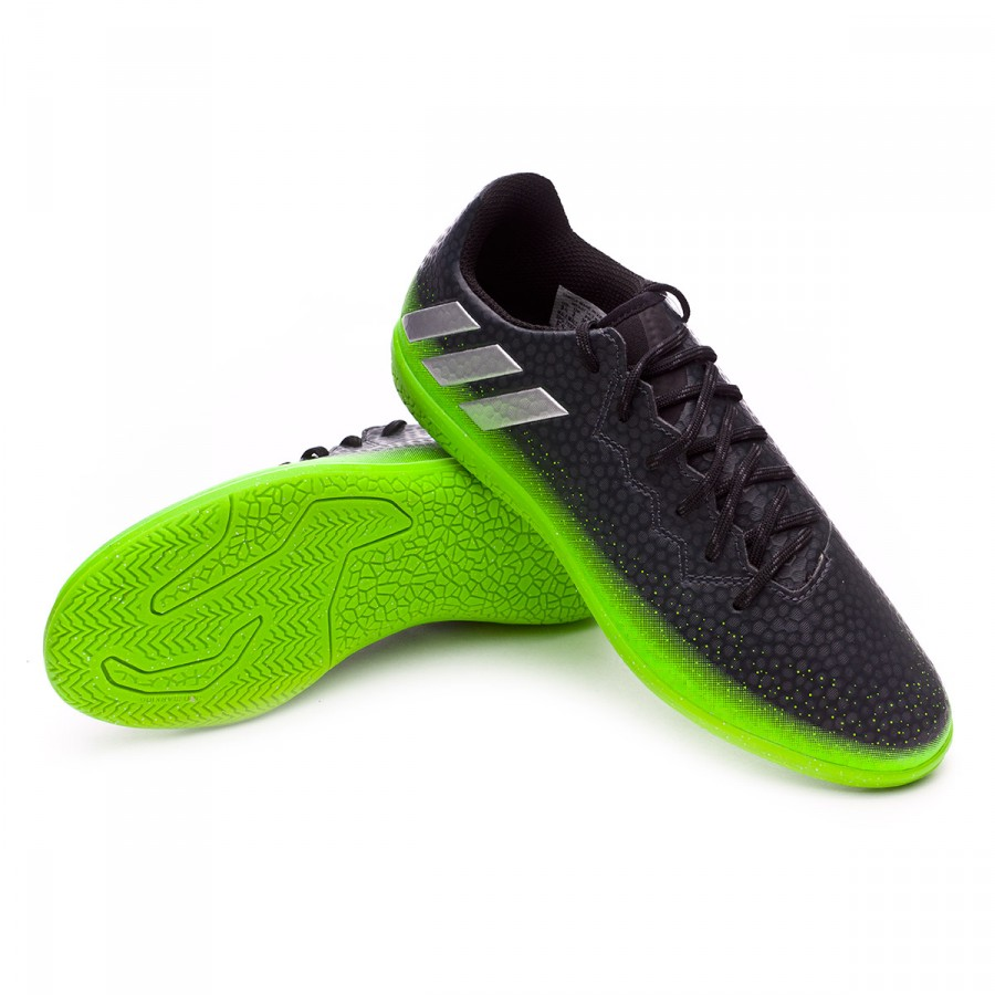 b5ec79ffc0c3e Futsal Boot adidas Jr Messi 16.3 IN Dark grey-Silver metallic-Solar ...