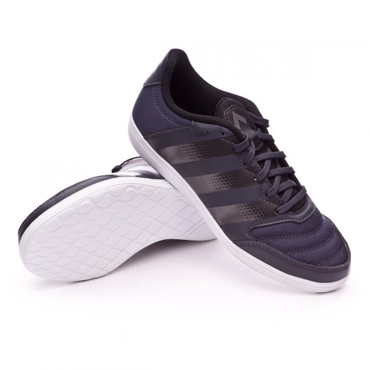 Sapatilha de Futsal  adidas jr Ace 16.4 ST Viper Dark grey-Night metallic-Black