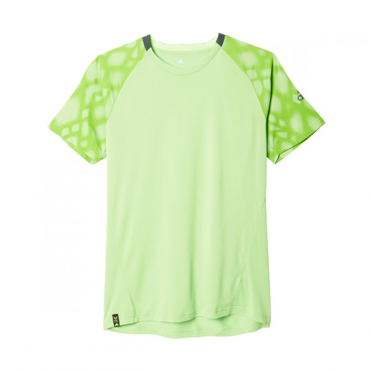 Camiseta  adidas Messi Perf Climacool Solar green