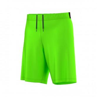 Pantalón corto  adidas Messi Perf Solar green-Dark grey