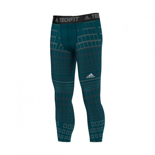 Sous short  adidas Techfit Base Warm Utility green