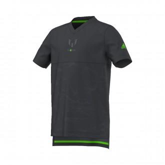 Camiseta  adidas Messi Quarter All Over Print Niño Dark grey