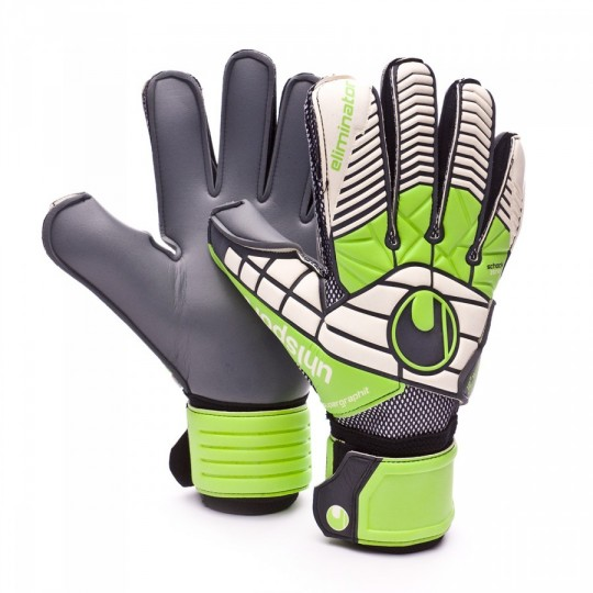 Luvas  Uhlsport Eliminator Super Graphit Green-Black-White