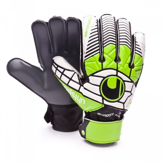 Luvas  Uhlsport Eliminator Soft Graphit SF Black-Green-White