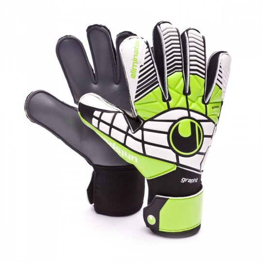 Luvas  Uhlsport Eliminator Soft Graphit Black-Green-White