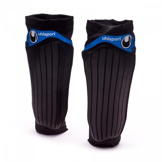 Caneleira  Uhlsport Carbon Flex Black-Blue