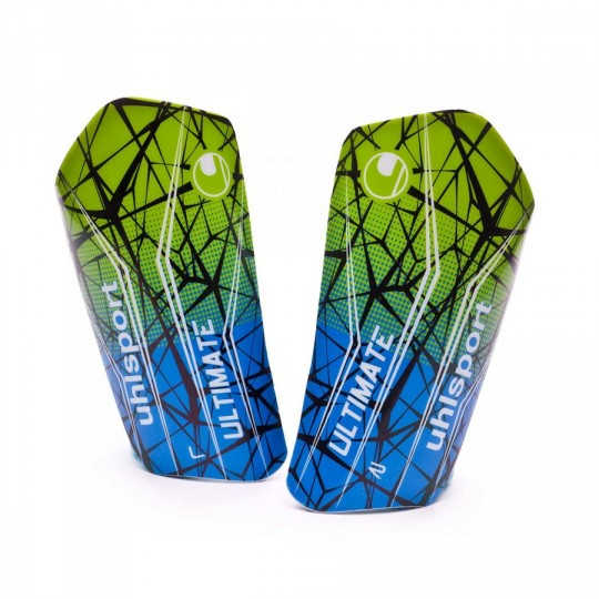 Espinillera  Uhlsport Ultimate Blue-Green-Black