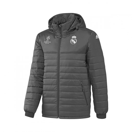 Chaquetón  adidas Real Madrid CF 2016-2017 Carbon-Black