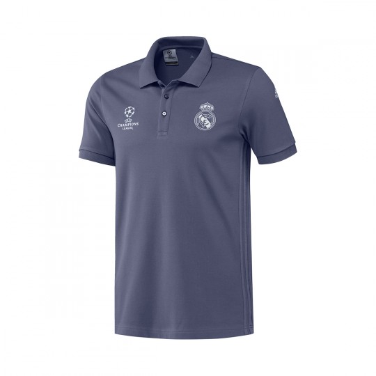 Polo  adidas Real Madrid CF 2016-2017 Super purple