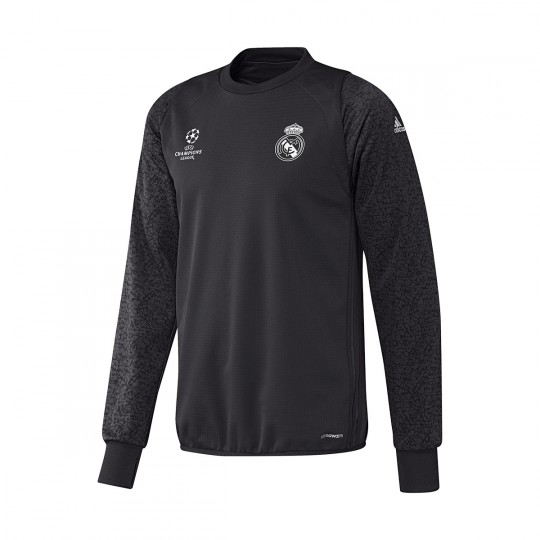 Sudadera  adidas Real Madrid CF Training 2016-2017 Carbon-Super purple