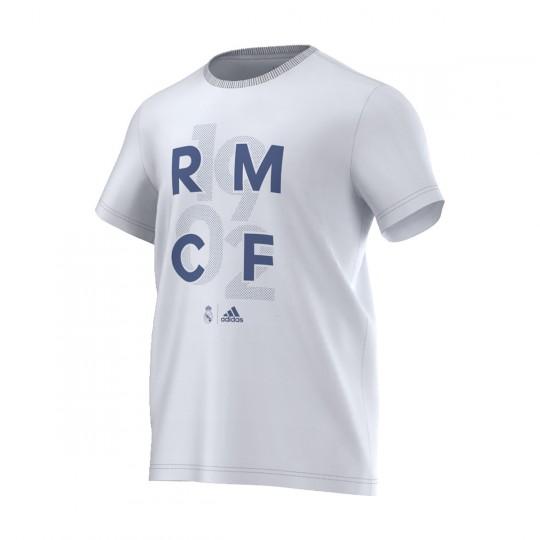 Camiseta  adidas Real Madrid CF Graphic 2016-2017 Crystal white