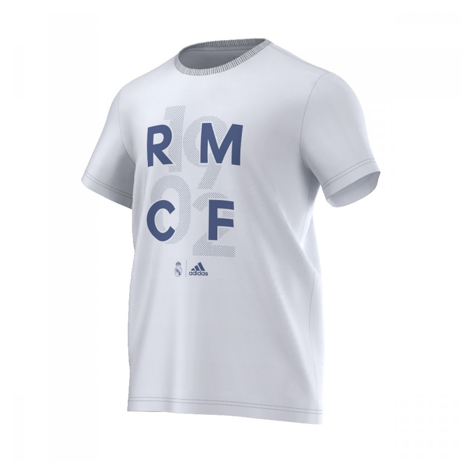 03cf3344a6df8 Jersey adidas Real Madrid CF Graphic 2016-2017 Crystal white ...