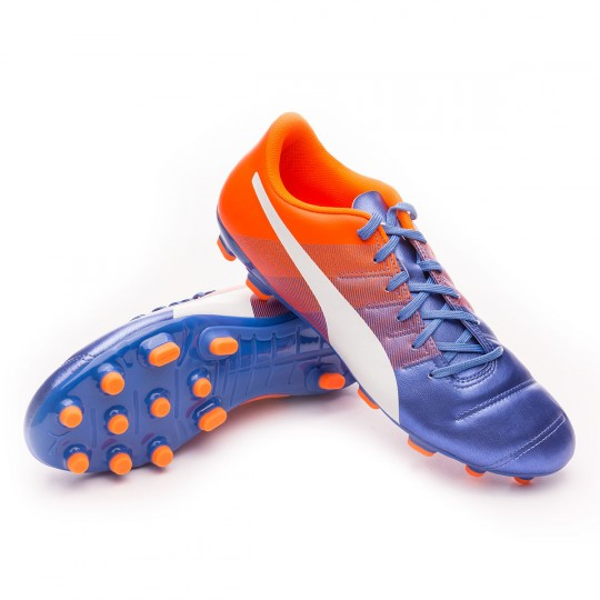Chaussure  Puma evoPOWER 4.3 AG Blue yonder-Puma white-Shocking