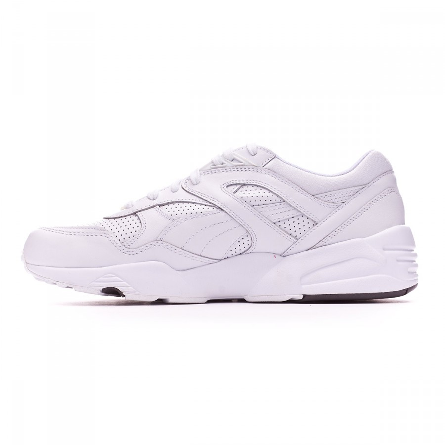 d0803a32edd Trainers Puma Trinomic R698 Core Leather White-Steel gray - Football store  Fútbol Emotion