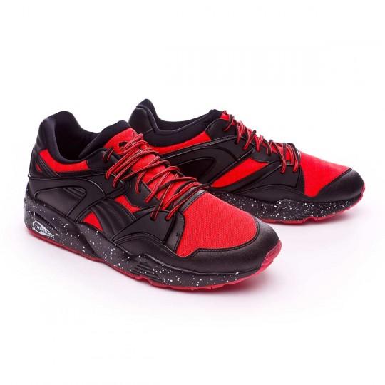 Zapatilla  Puma Blaze Tech Mesh Red blast-Black
