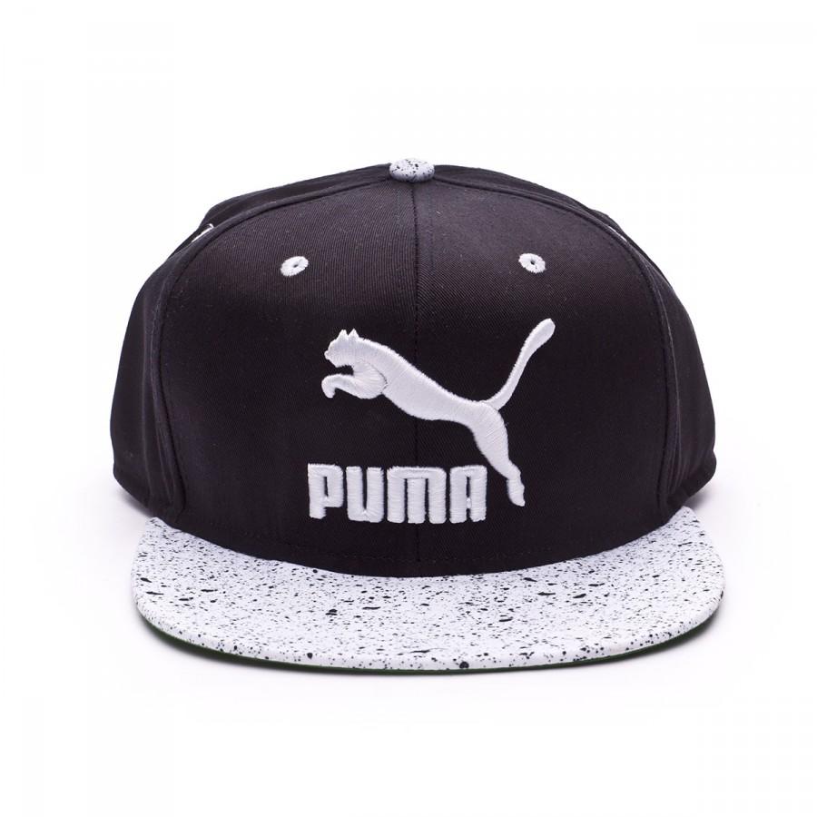 0a697814365e5 Cap Puma LS ColourBlock SnapBack Black - Football store Fútbol Emotion