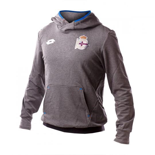 Sudadera  Lotto RC Deportivo de la Coruña 2016-2017 Grey tim-Blue