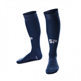 Football Socks  SP Fútbol Extra-long Hi5 Navy blue
