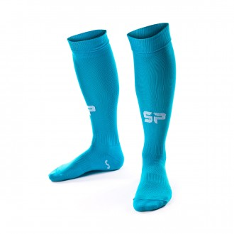 Football Socks  SP Fútbol Extra-long Turquoise blue