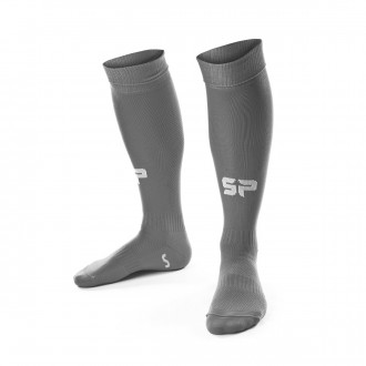 Football Socks  SP Fútbol Extra-long Metallic Grey