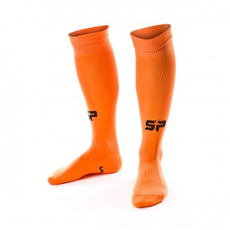 Football Socks  SP Fútbol Extra-long Fluorescent orange