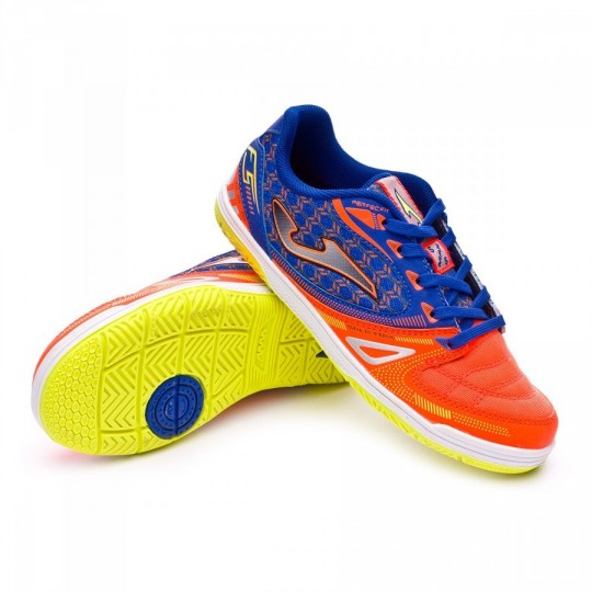 Zapatilla de fútbol sala  Joma jr Sala Max Orange-Yellow