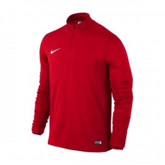 Sudadera  Nike Academy 16 University red-White
