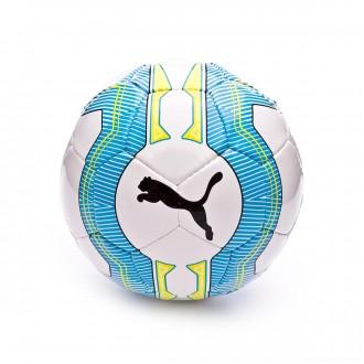 Balón  Puma evoPOWER 5.3 Futsal White-Atomic Blue