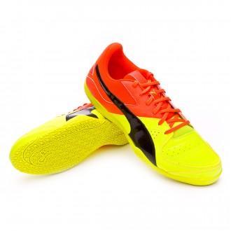 Zapatilla de fútbol sala  Puma Gavetto Sala Safety yellow-Black