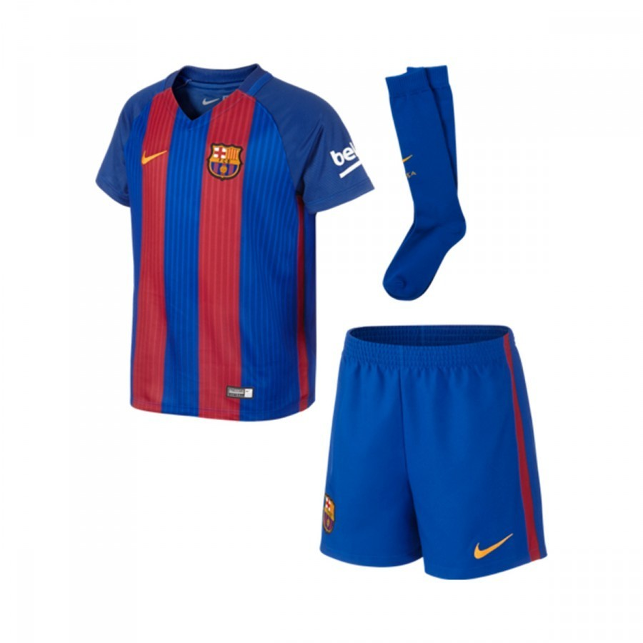 Kit Nike Jr FC Barcelona Home Infant Kit 2016-2017 Sport royal-Gym  red-University gold - Football store Fútbol Emotion 9095cefb721