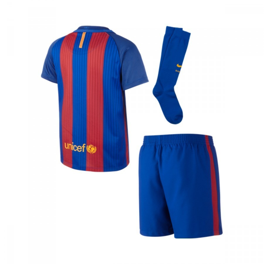 015b11b5c862 Kit Nike Jr FC Barcelona Home Infant Kit 2016-2017 Sport royal-Gym ...