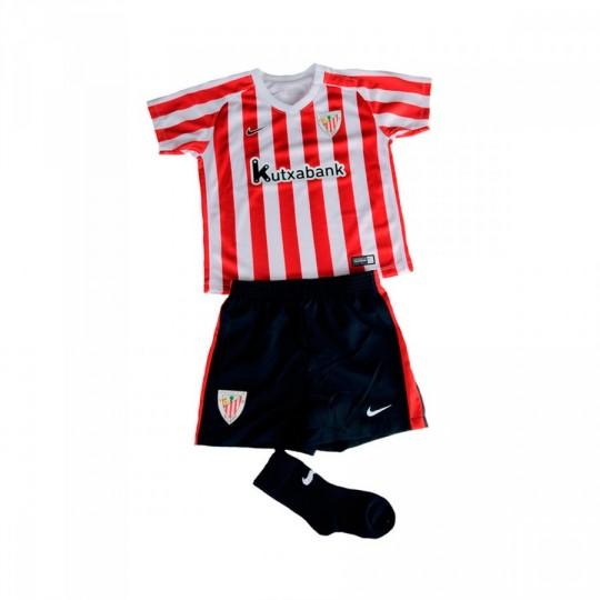 Conjunto  Nike jr AC Bilbao Home Mini 2016-2017 University red-White-Black