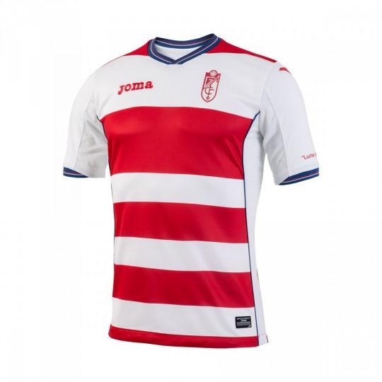 Camiseta  Joma Granada CF Home 2016-2017 Rojo-Blanco