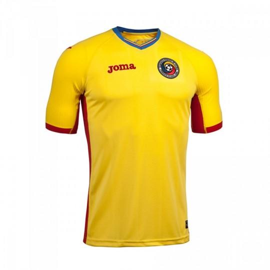 Camiseta  Joma Rumanía Home 2016-2017 Amarillo