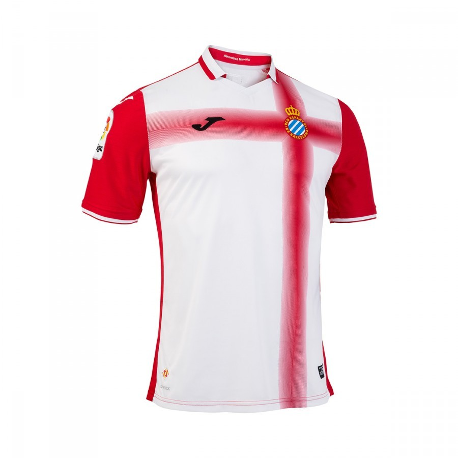 6033293fe9b Jersey Joma RCD Espanyol Away 2nd Kit 2016-2017 Red-White - Football ...