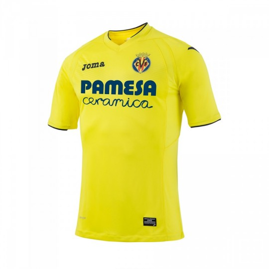 Camiseta  Joma Villarreal CF Home 2016-2017 Amarillo