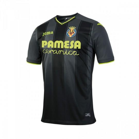 Camiseta  Joma Villarreal CF Away 2016-2017 Negro