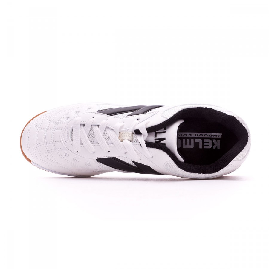 7af88178e32 Futsal Boot Kelme Kids Indoor Copa White - Tienda de fútbol Fútbol Emotion