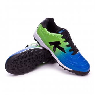 Sapatilha  Kelme Jr K-Electric Goal Turf Royal-Verde