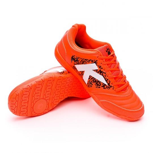 Sapatilha de Futsal  Kelme Subito 3.0 Naranja Eléctrico