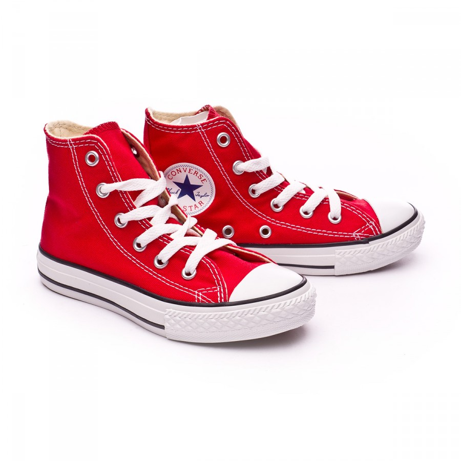 a5a1b19a981d Trainers Converse Jr Chuck Taylor All Star Varsity Red - Football ...