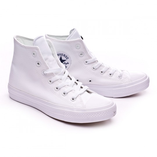 Sapatilha  Converse Chuck Taylor All Star II White-Navy