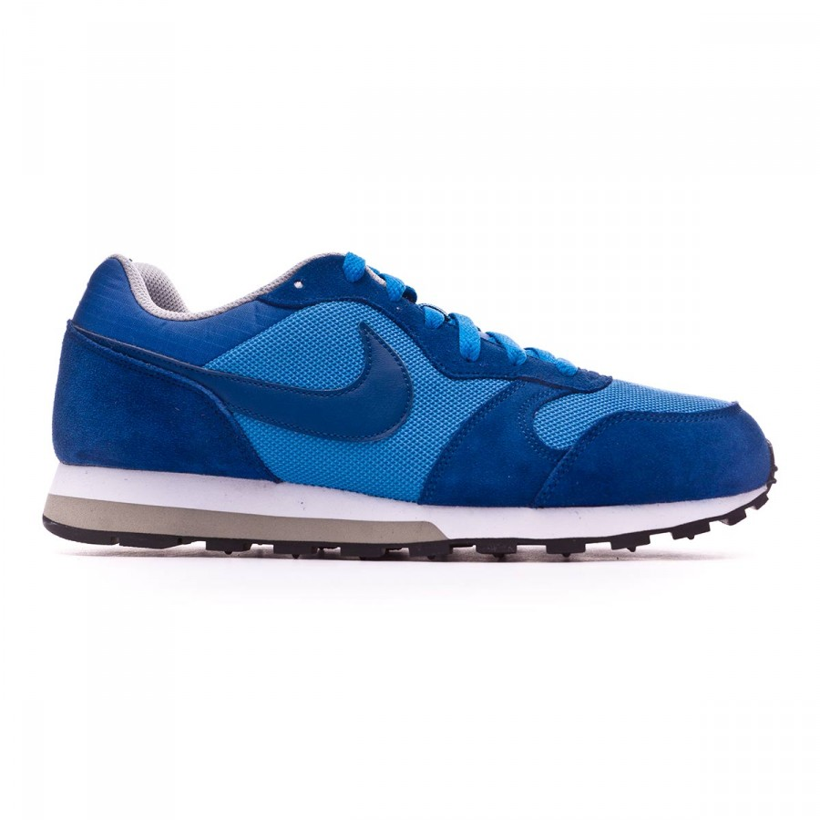 00338f65fbf69 Trainers Nike MD Runner 2 Blue-Wolf grey-White - Football store Fútbol  Emotion