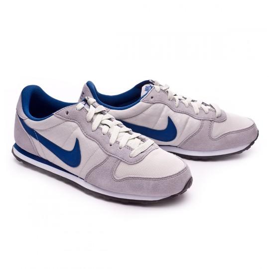 Zapatilla  Nike Genicco Light bone-Metallic silver-White