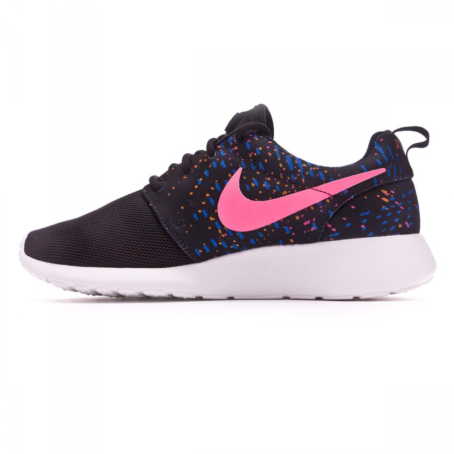 02b39aac9261c Trainers Nike Roshe One Print Women Black-Digital pink - Tienda de fútbol  Fútbol Emotion