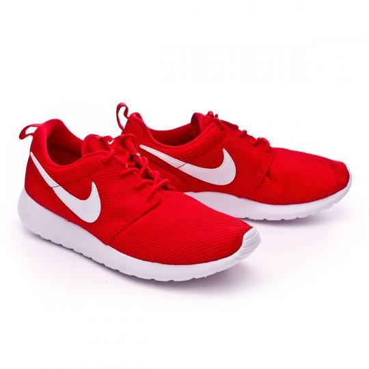 Zapatilla  Nike jr Roshe One (GS) University red-White