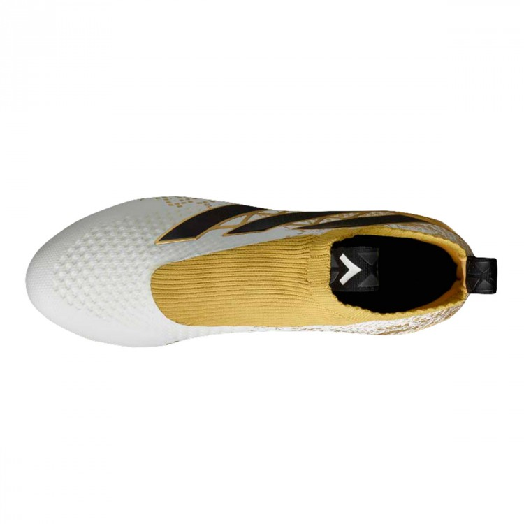 Promover nosotros Convocar  Football Boots adidas ACE 16+ Purecontrol White-Core black-Gold metallic -  Football store Fútbol Emotion