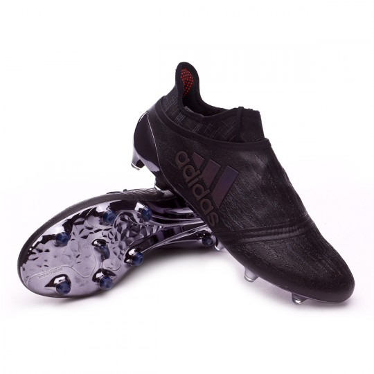Chuteira  adidas X 16+ Purechaos FG Dark Black
