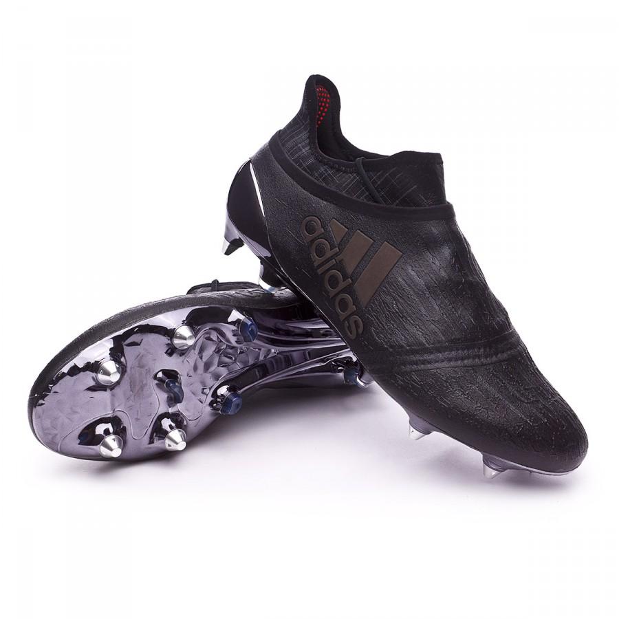 9cc06503a Football Boots adidas X 16+ Purechaos SG Dark Black - Football store ...